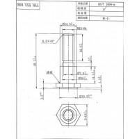 H62黄铜螺栓加工