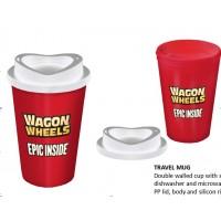 塑料咖啡杯带盖加工