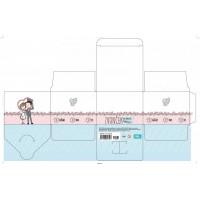 塑料透明pvc彩盒加工