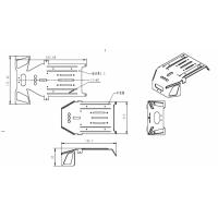 2mm铝板激光切割加工
