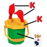 沙滩玩具塑料桶加工
