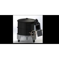 圆形烤炉钣金折弯焊接加工