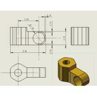 CNC电脑锣黄铜件加工