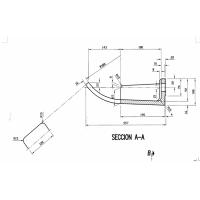 高合金碳钢铸件提升机铲斗加工
