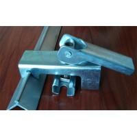 角铝部件  固定用防溢裙板夹持器 全铝 金品