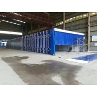 移动伸缩式喷漆房专业生产厂家