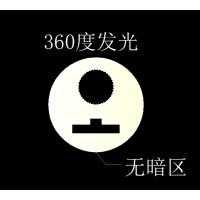 LED 360度发光硅胶加工