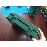 军绿色塑料药盒加工