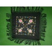 围巾刺绣加工