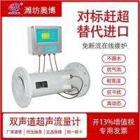 潍坊奥博LCT-DW双声道超声流量计公司直销流量仪表厂家