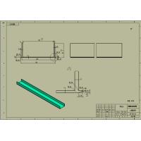定制铝合金U型挤压型材