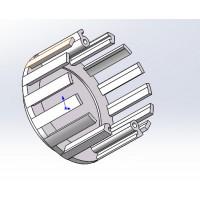 锻压散热器 铝合金灯壳加工