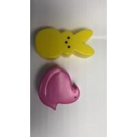 塑料兔子+小鸡加工
