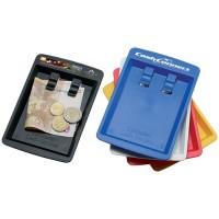 塑料硬币和纸币架加工