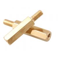 铜六角螺母柱/阴阳柱加工