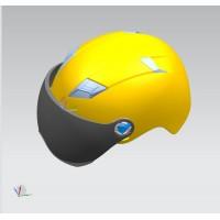 头盔紧固带加工