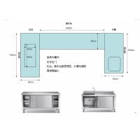 定制厨房不锈钢操作台