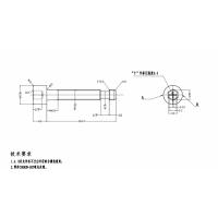 M3快拧螺栓毛坯搓丝加工