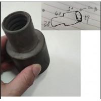 PVC PP管接头件加工