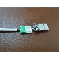 USB刺破式连接器加工