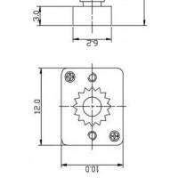 粉末冶金小齿轮加工