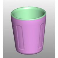 10安士双层塑胶杯加工