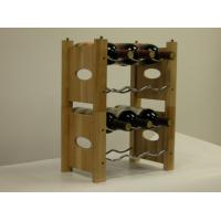 DIY木制红酒架加工