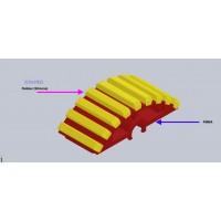 PMMA+发泡硅胶齿轮加工