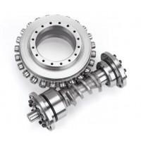 螺旋凸轮蜗杆+凸轮转盘加工