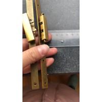 箱包长条锁加工