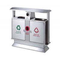 不锈钢分类垃圾箱加工