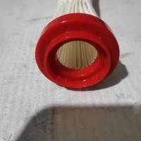 红色塑料端盖加工