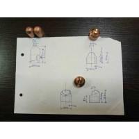 氧化铜铝电极帽加工