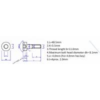 螺栓+非标准螺母加工