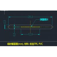 宠物项圈PVC夹钢带加工