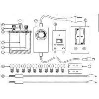 物理电解溶液导电实验设备加工