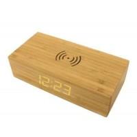 木制无线充电控钟套料
