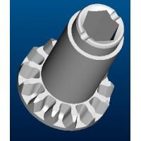 传动齿轮与丝杆齿轮粉末冶金配件