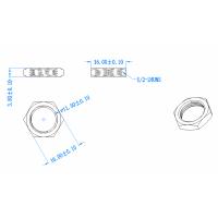定制六角金属螺母
