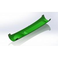 绿色硅胶材料软壳加工