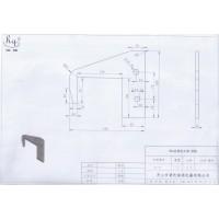 304不锈钢支架板激光切割加工